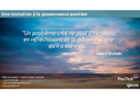 La gouvernance positive (2018 – FR)